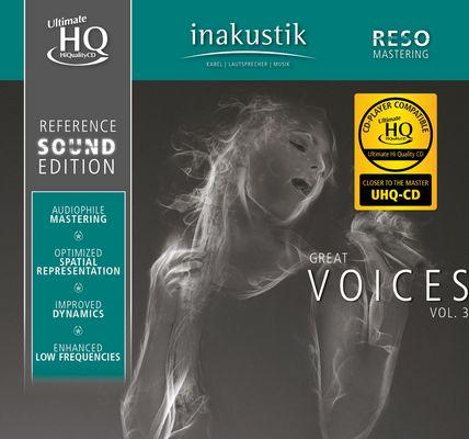 Různé značky Inakustik - GREAT VOICES, VOL. III (U-HQCD)