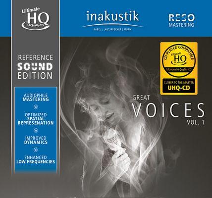 Různé značky Inakustik - GREAT VOICES (U-HQCD)