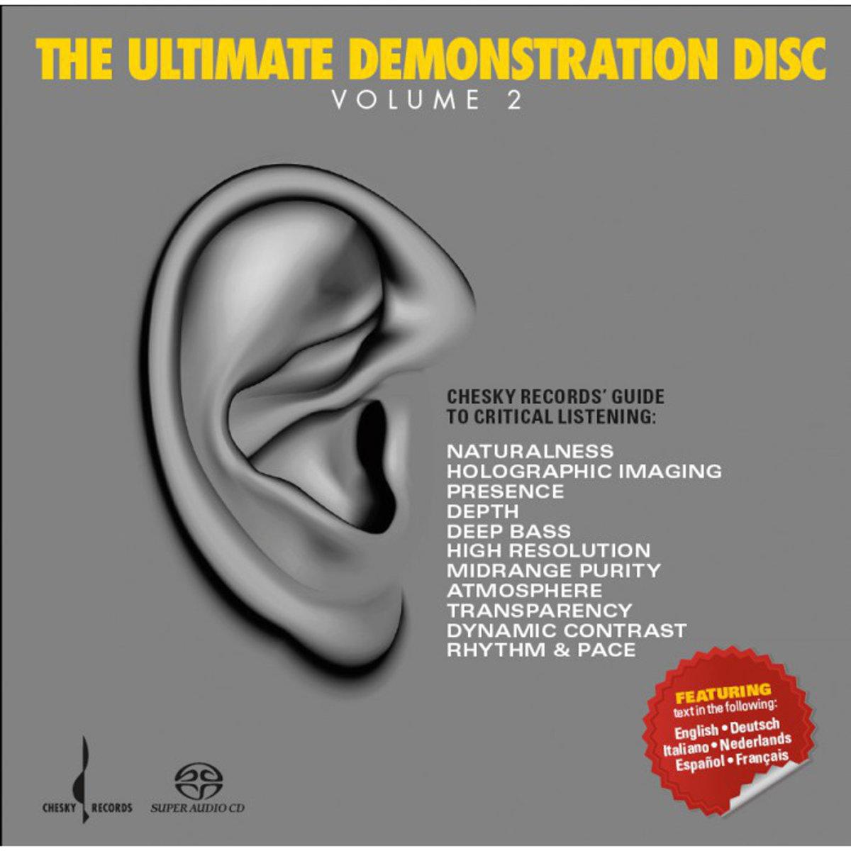 Různé značky Chesky Records - The Ultimate Demonstration Disc - Volume 2