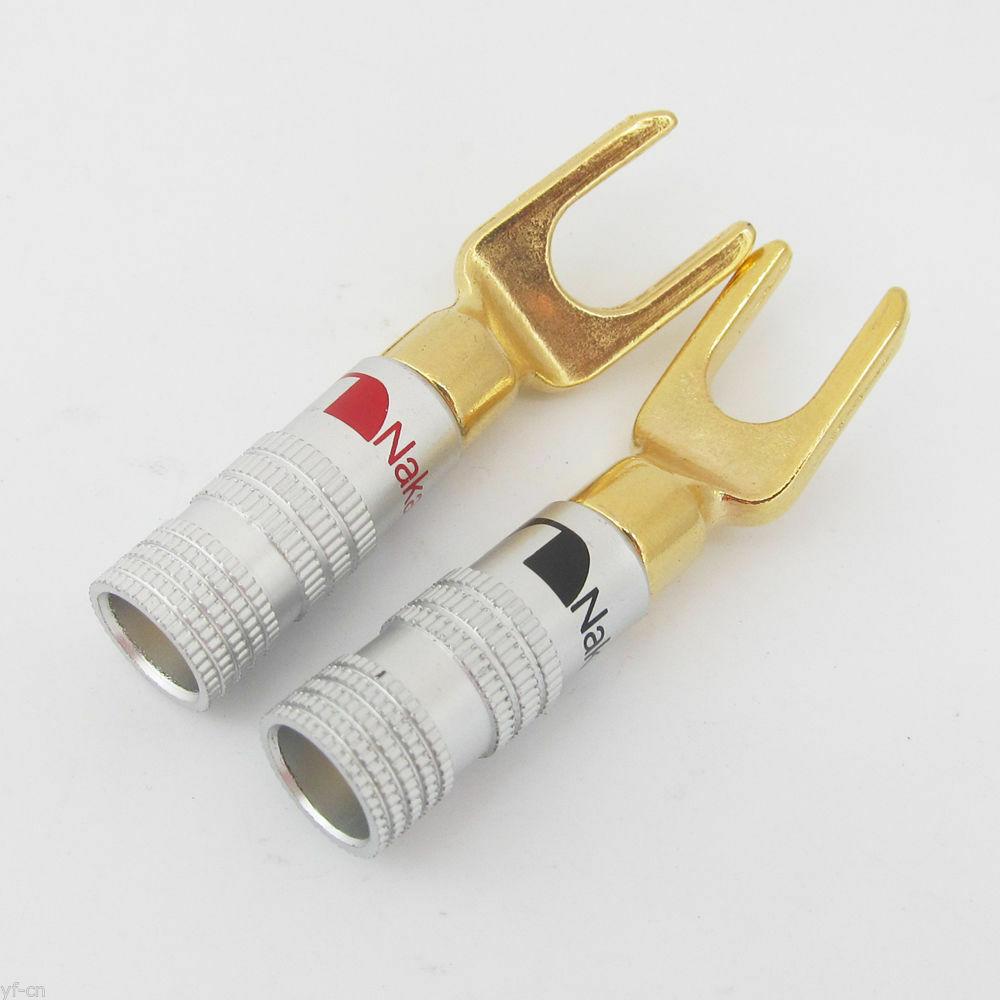 Nakamichi - Spade Plugs N0515FN Barevné provedení: červené - red