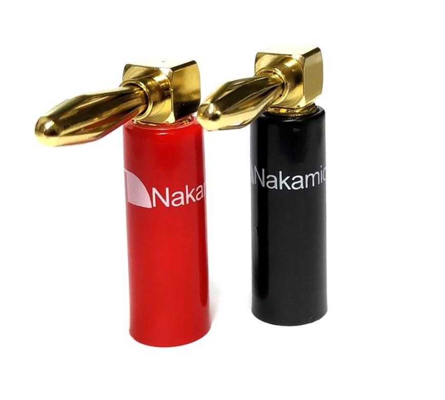 Nakamichi - Banana Plugs Angle N0533A