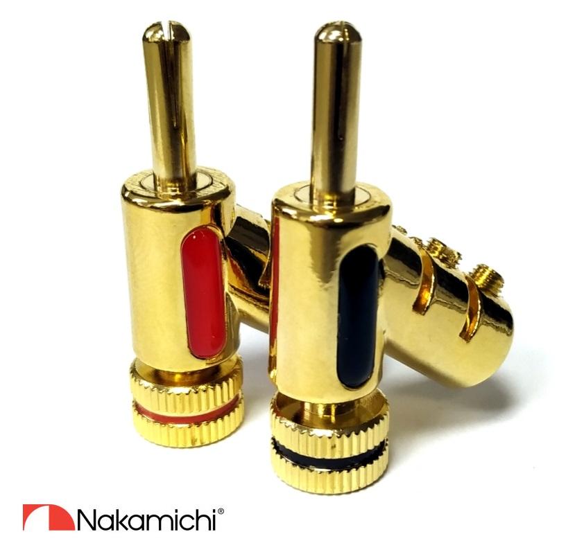 Nakamichi - Banana Plugs N0846