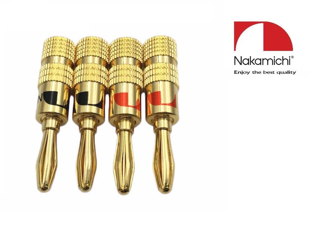 Nakamichi - Banana Plugs N0534G - Gold Limited Edition