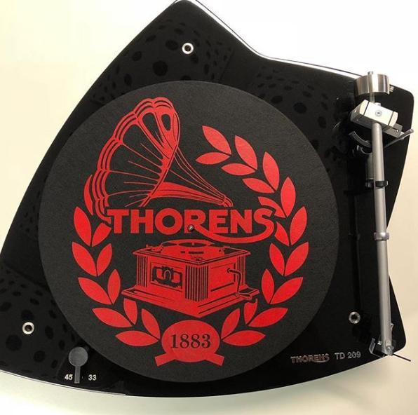 Thorens Slipmate Black Anti-static