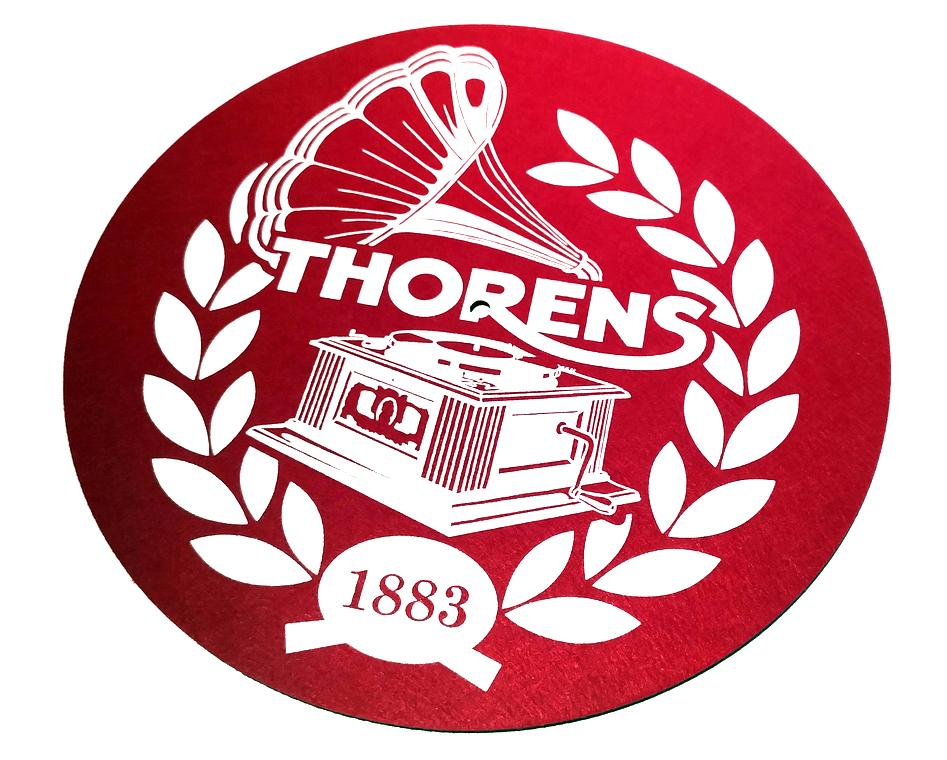Thorens Slipmate Red Anti-static
