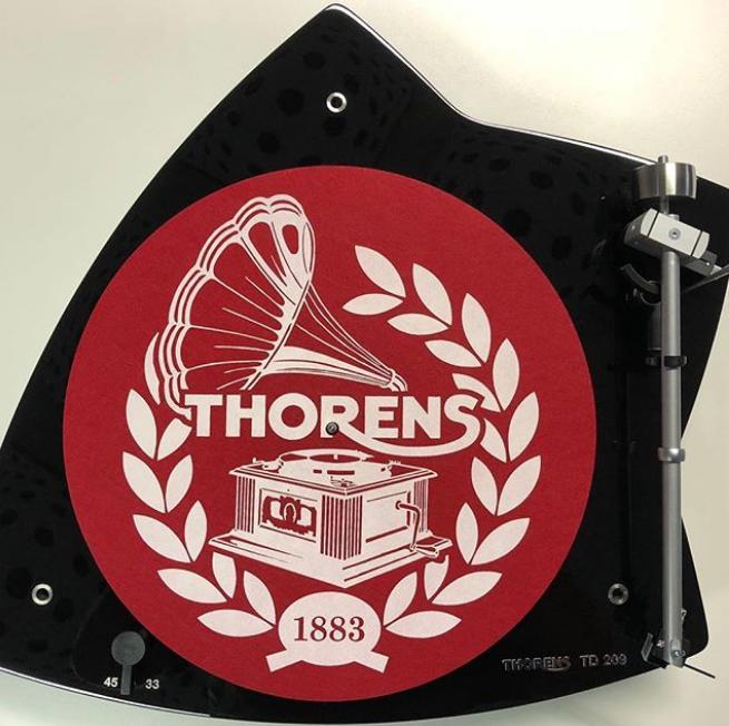 Thorens Slipmate Red Anti-static