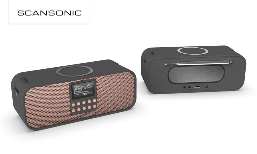 SCANSONIC PA8001 DAB+ RADIO