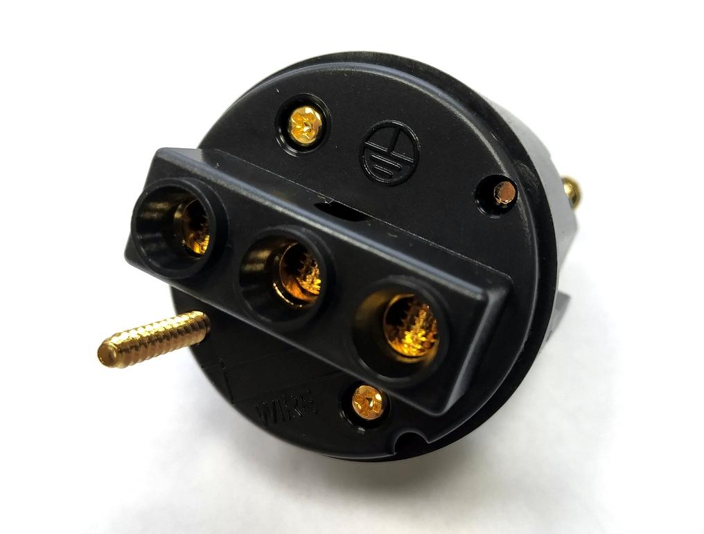 ELECAUDIO PS-24GC Socket Schuko Clear
