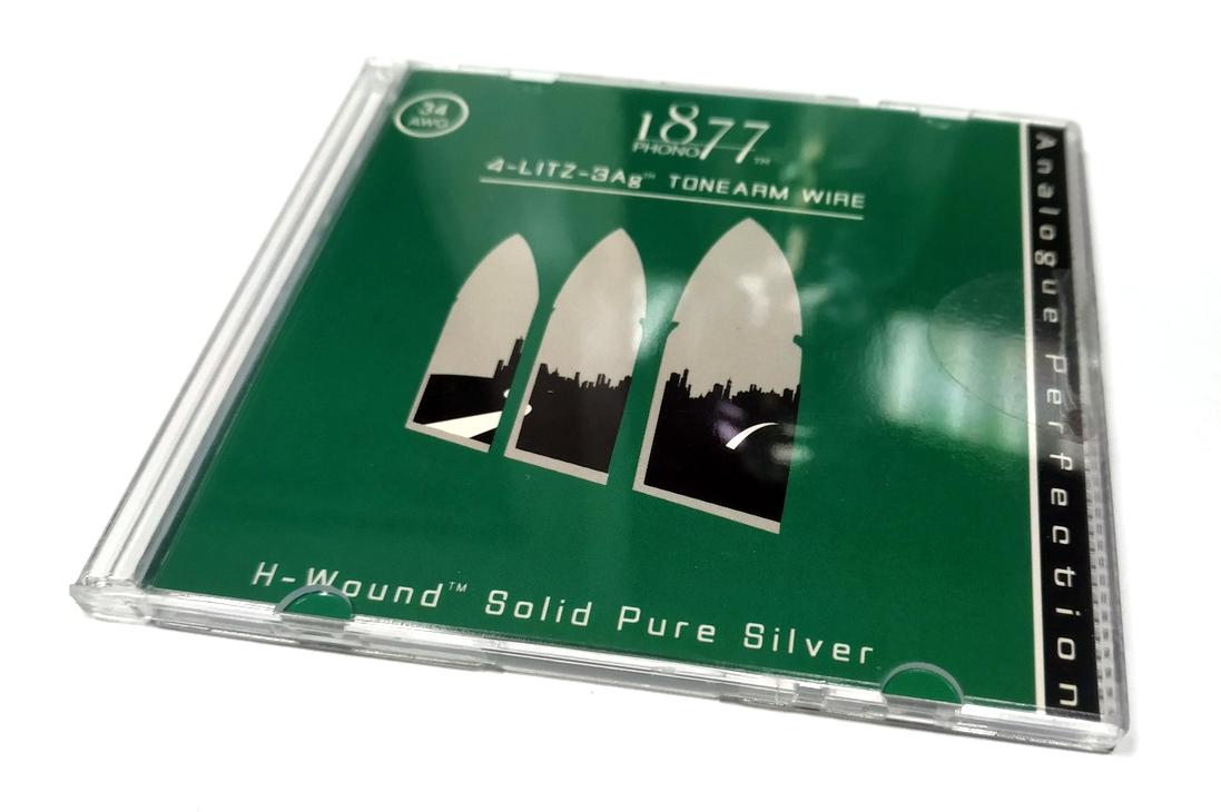 """1877PHONO Zavfino 1877PHONO REWIRE-KIT + """"4-Litz-3Ag"""""""