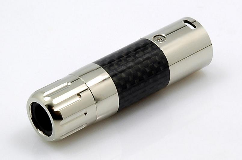 W&M Audio WM Audio XLR Stecker CR1 Male Carbon/Rhodium