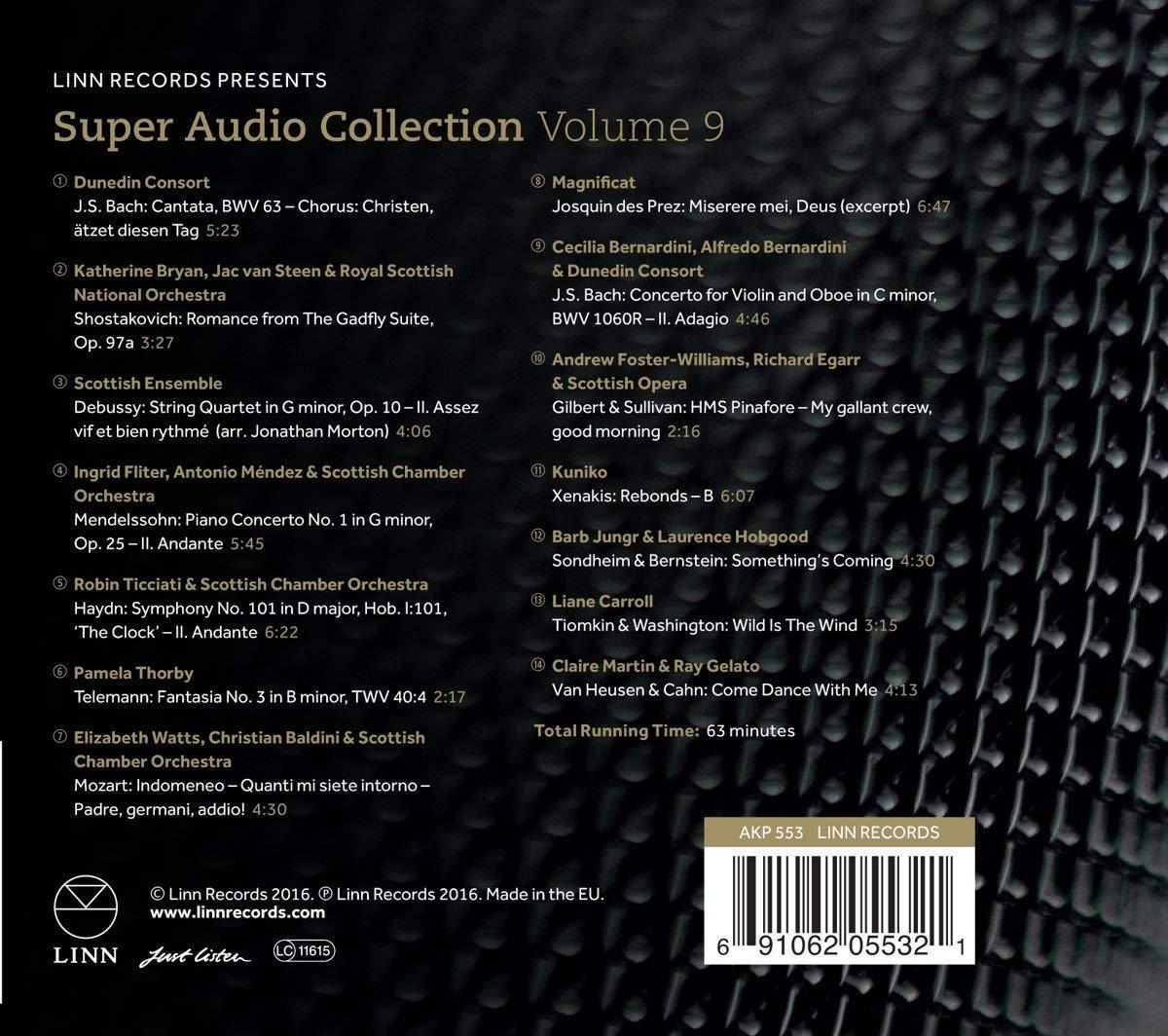 Různé značky Linn Sampler Vol.9