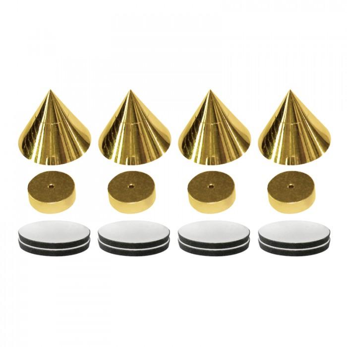 Dynavox - antirezonanční hroty A1 Barevné provedení: zlatá - gold