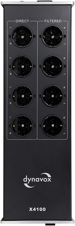 Dynavox HIFI Power Socket X4100 Barevné provedení: stříbrná - silver