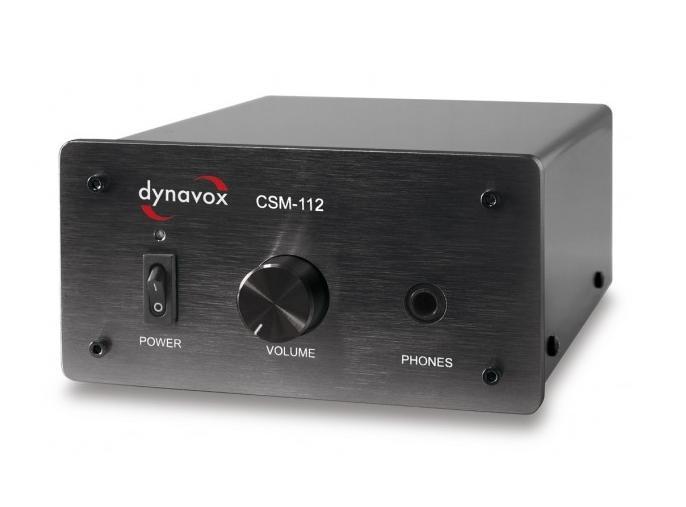 Dynavox CSM-112 Barevné provedení: stříbrná - silver