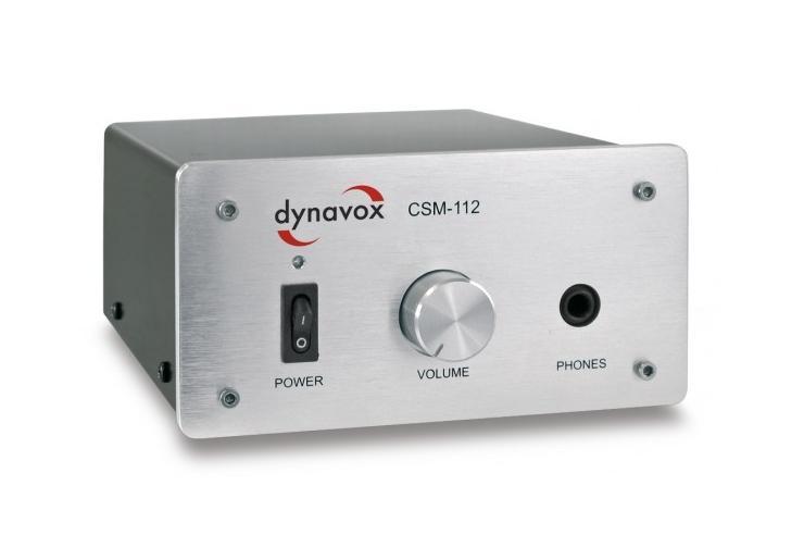 Dynavox CSM-112 Barevné provedení: stříbrné