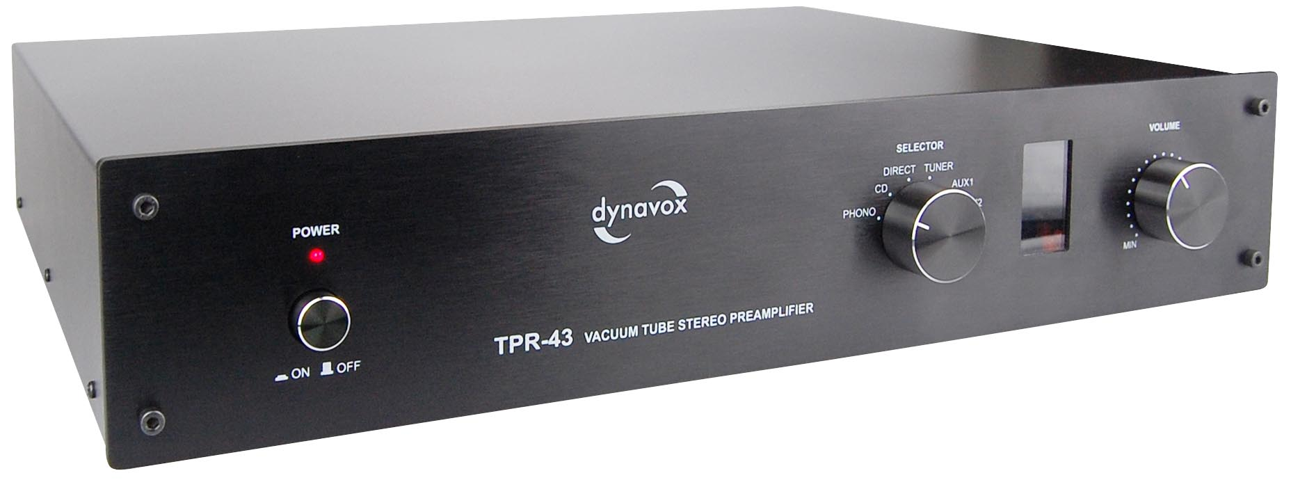 Dynavox TPR-43 Barevné provedení: černá - black