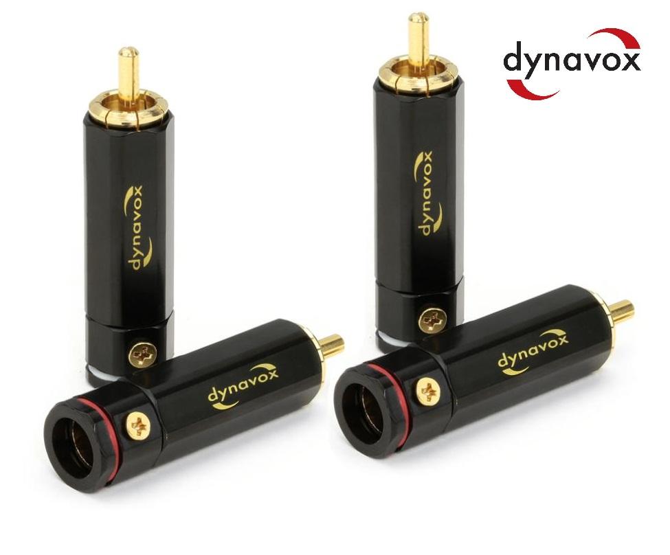 Dynavox High-End Cinchs RCA Set