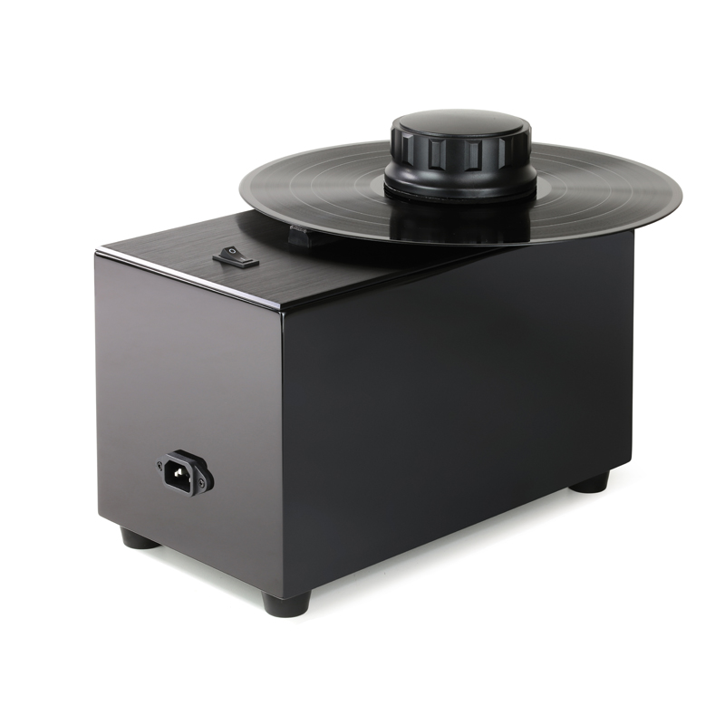 Record Doctor Washer VI High Gloss Black Anniversary Edition + Washer VI Cover