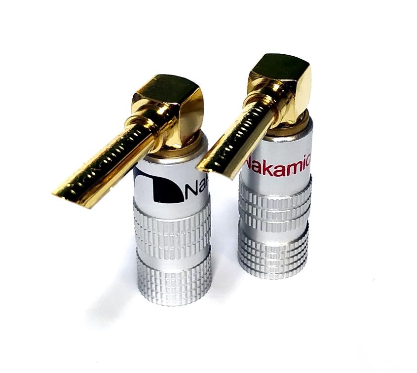 Nakamichi - Banana Plugs Angle N0534AE