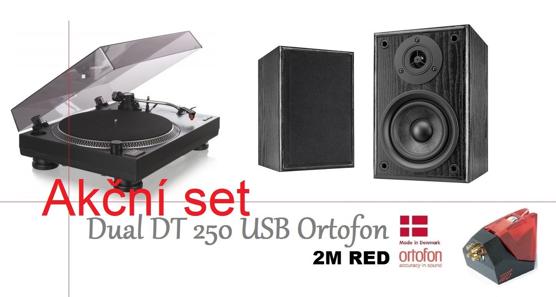 Dual DT 250 USB Ortofon + Dual LS 100 Active monitor
