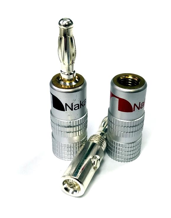 Nakamichi - Banana Plugs N0534B - Beryllium Limited Edition