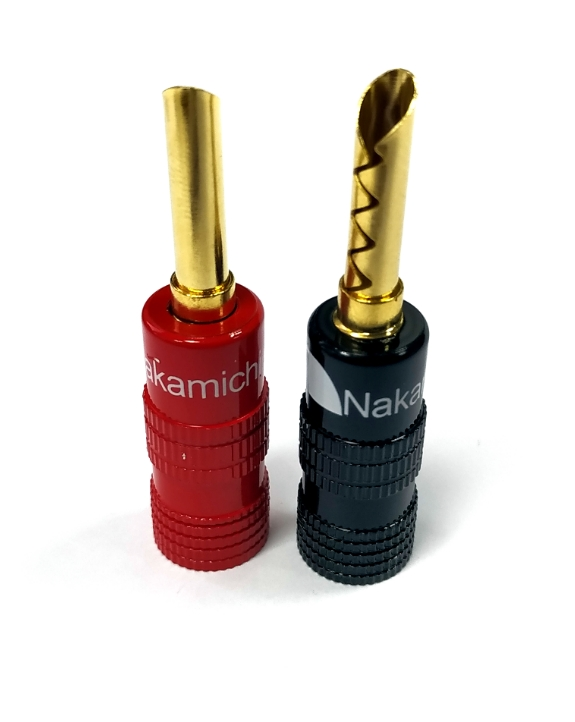 Nakamichi - Banana Plugs N0534C - Colors Limited Edition