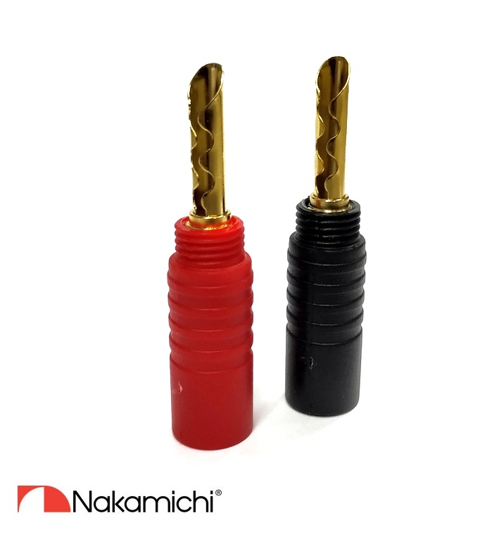 Nakamichi - Banana Plugs N0532E