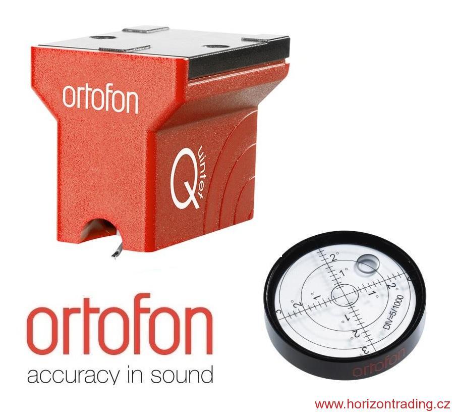 Ortofon MC Quintet Red + Ortofon BUBBLE LEVEL