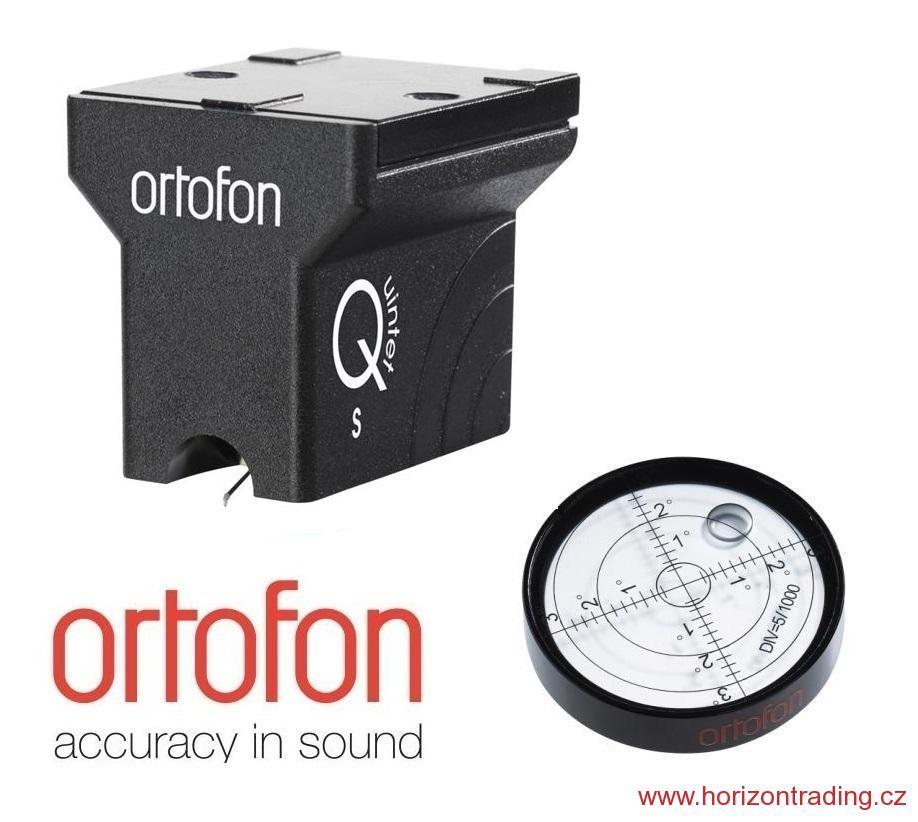 Ortofon MC Quintet Black S + Ortofon BUBBLE LEVEL