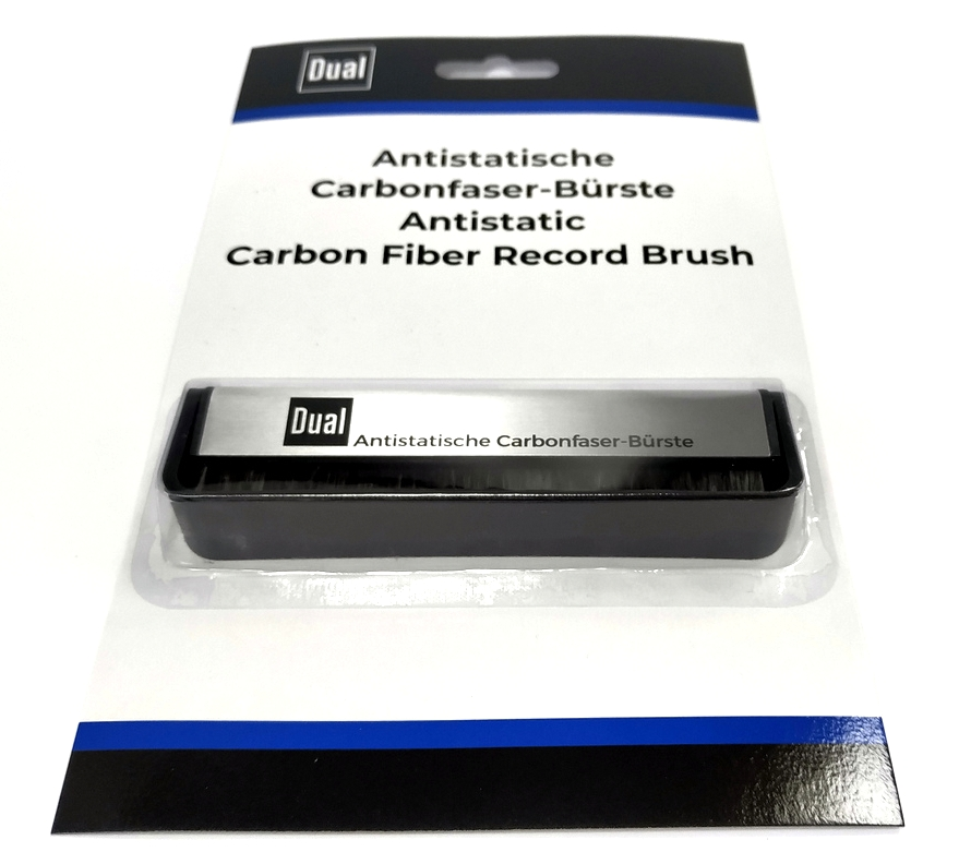 DUAL Carbon Fiber Record Brush