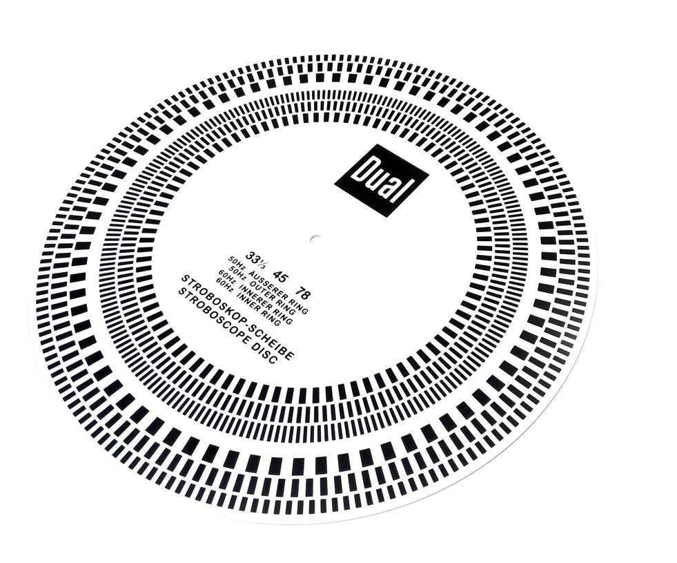 DUAL Stroboscope Disc-Acryl