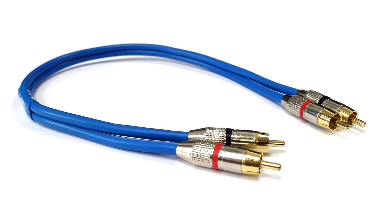 Dynavox Blanko Sound Stereo - RCA cinch kabel 0,5m