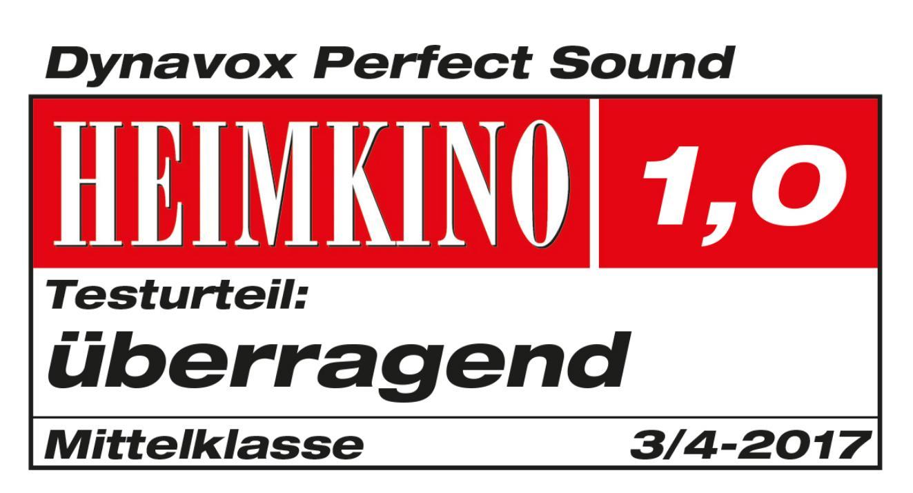 Dynavox Perfect Sound 4x2.5mm