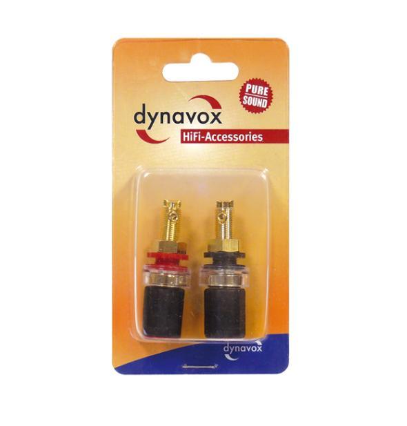 Dynavox Pro Black Speaker Terminal