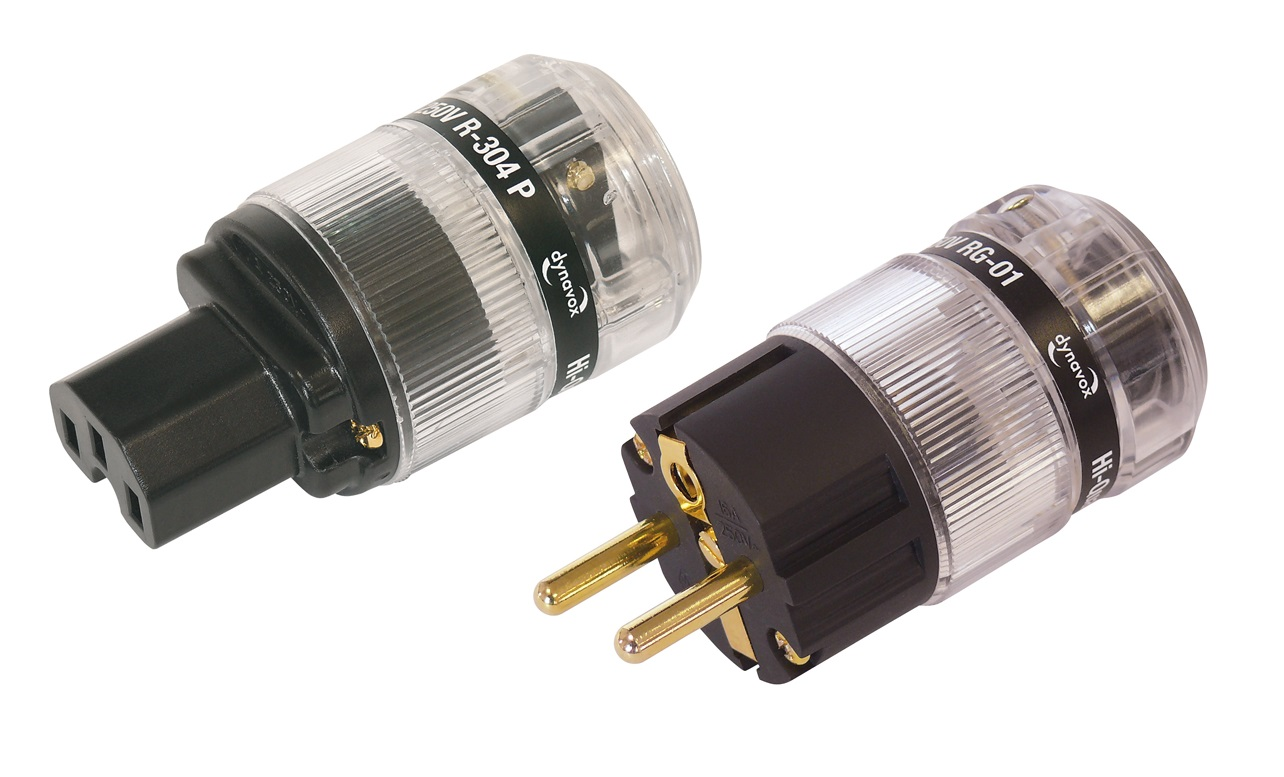 Dynavox RG-01 + R304P Socket Schuko Clear Gold