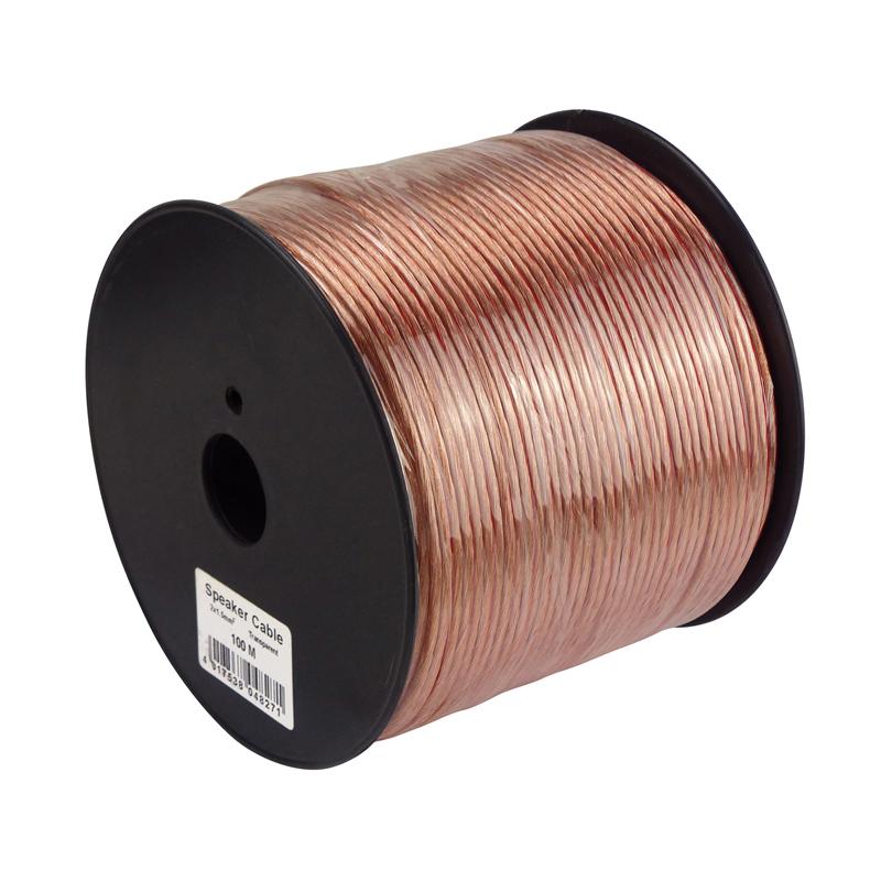 Různé značky S-IMPULS  LS-Kabel 2x1,5mm CCA 100m
