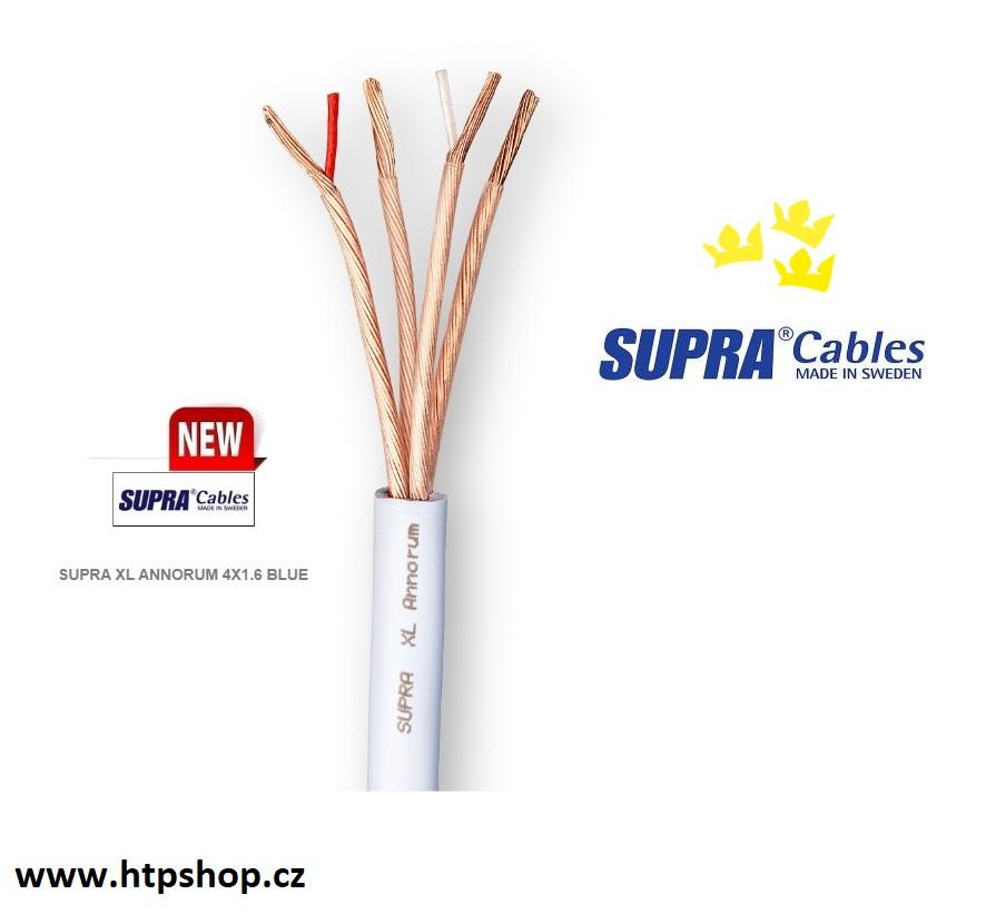 Supra Cables SUPRA XL ANNORUM 4X1.6 BLUE