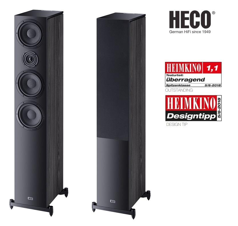 Heco Aurora 700 Barevné provedení: černá - black