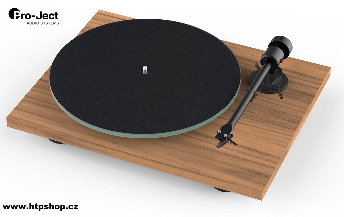 Pro-Ject T1 + Ortofon OM 5E Barevné provedení: ořech - walnut