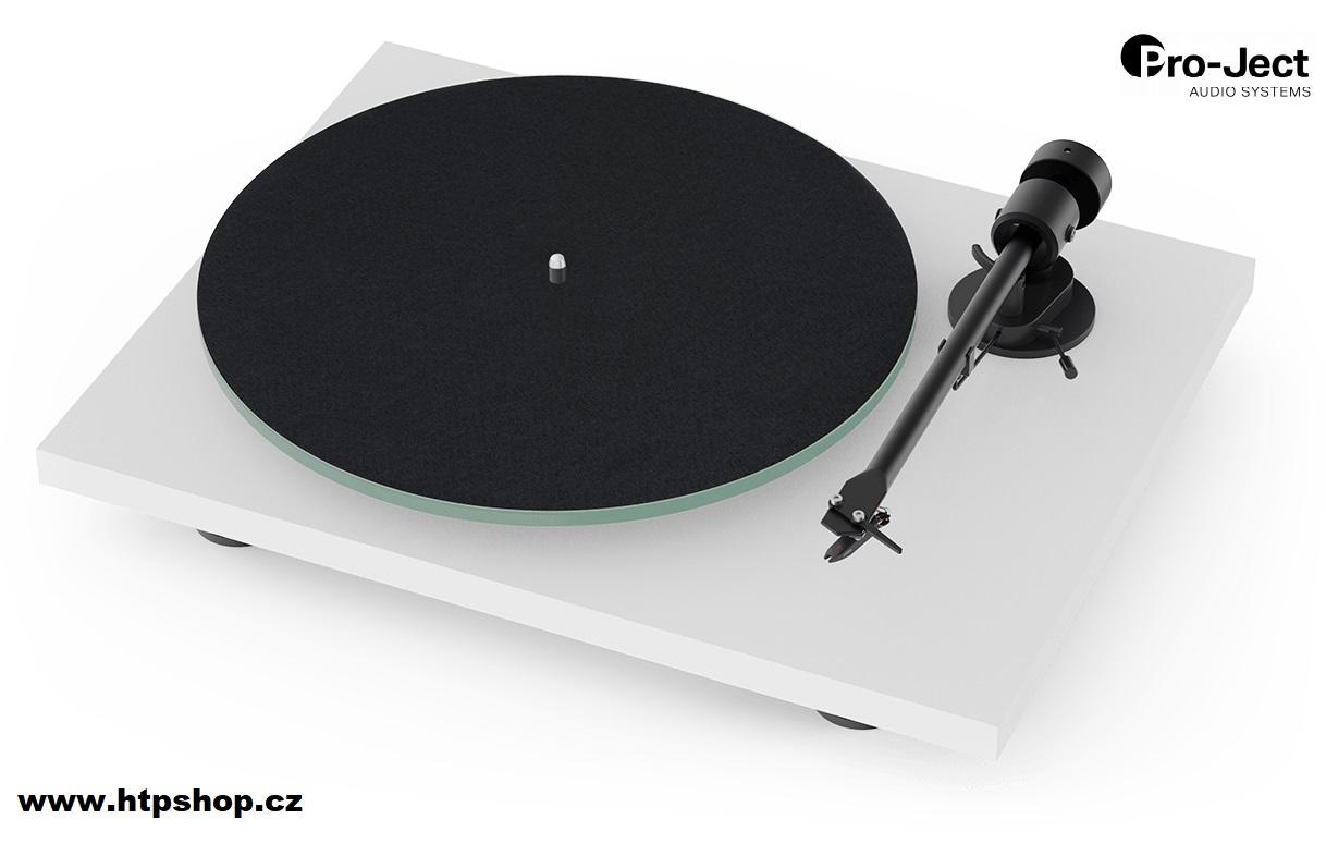 Pro-Ject T1 + Ortofon OM 5E Barevné provedení: bílá - matná