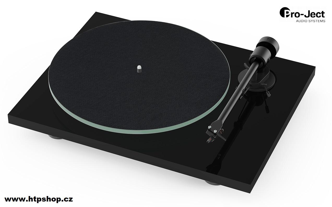 Pro-Ject T1 + Ortofon OM 5E Barevné provedení: černá - piano lak