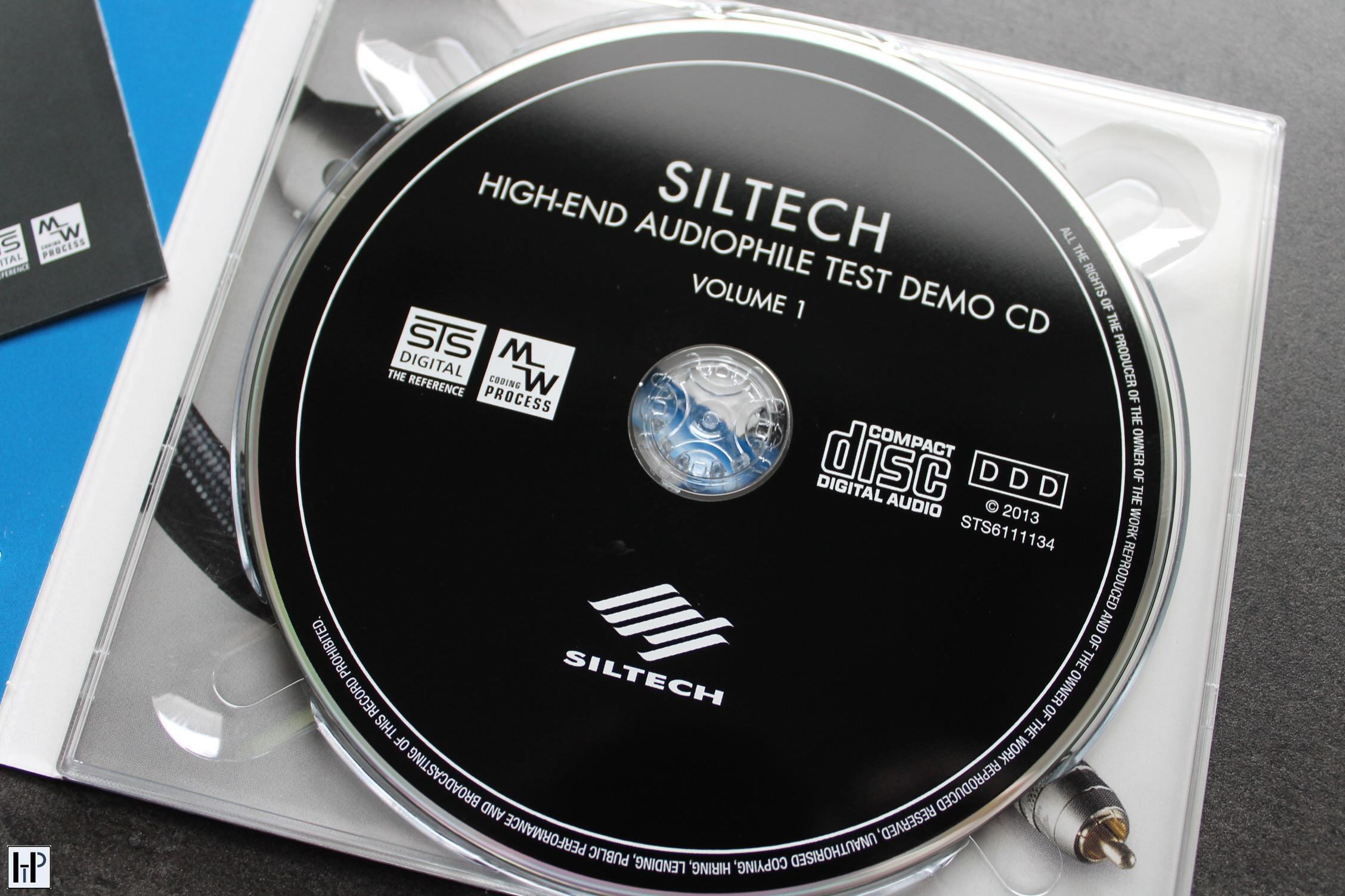 STS Digital - Siltech High End Audiophile Test CD Vol.1