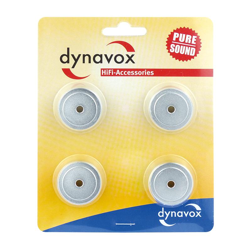 Dynavox Aluminium Midi Silver Feets