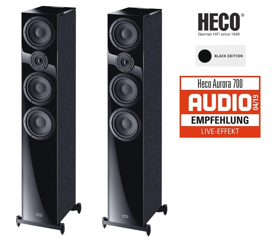 Heco Aurora 700 Black Edition