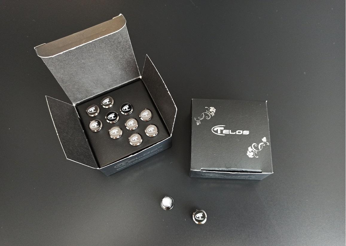 Telos Black Edition Reference RCA caps