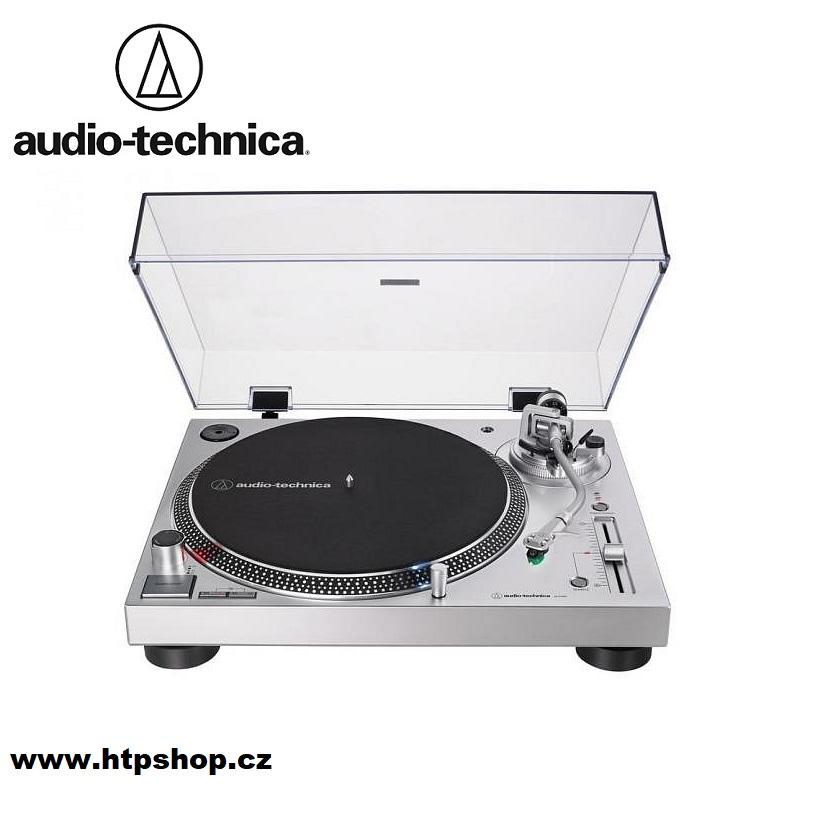Audio-Technica AT-LP120XBT-USB Barevné provedení: stříbrná - silver