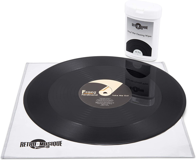 Retro Musique - Vinyl Wet Cleaning Wipes