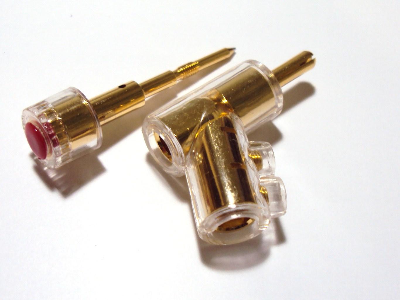 AEC connectors AEC BP-319GG Barevné provedení: černé
