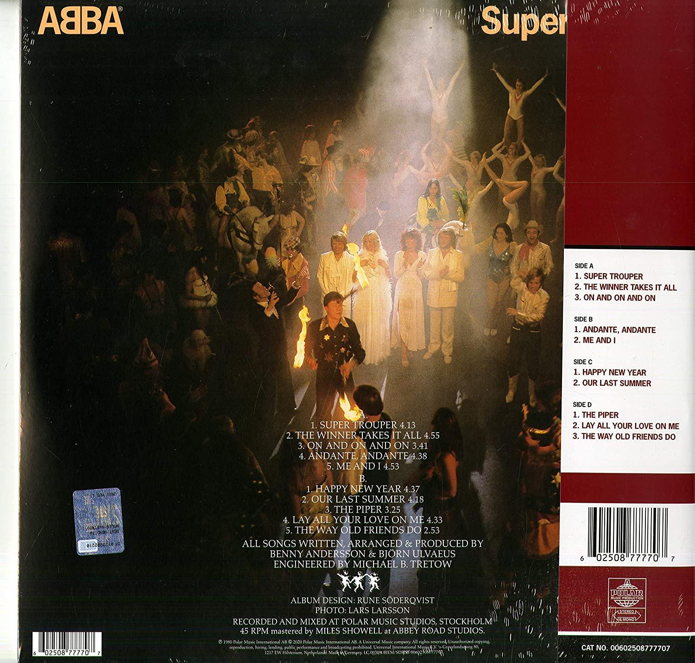 Různé značky Abba - Super Trouper