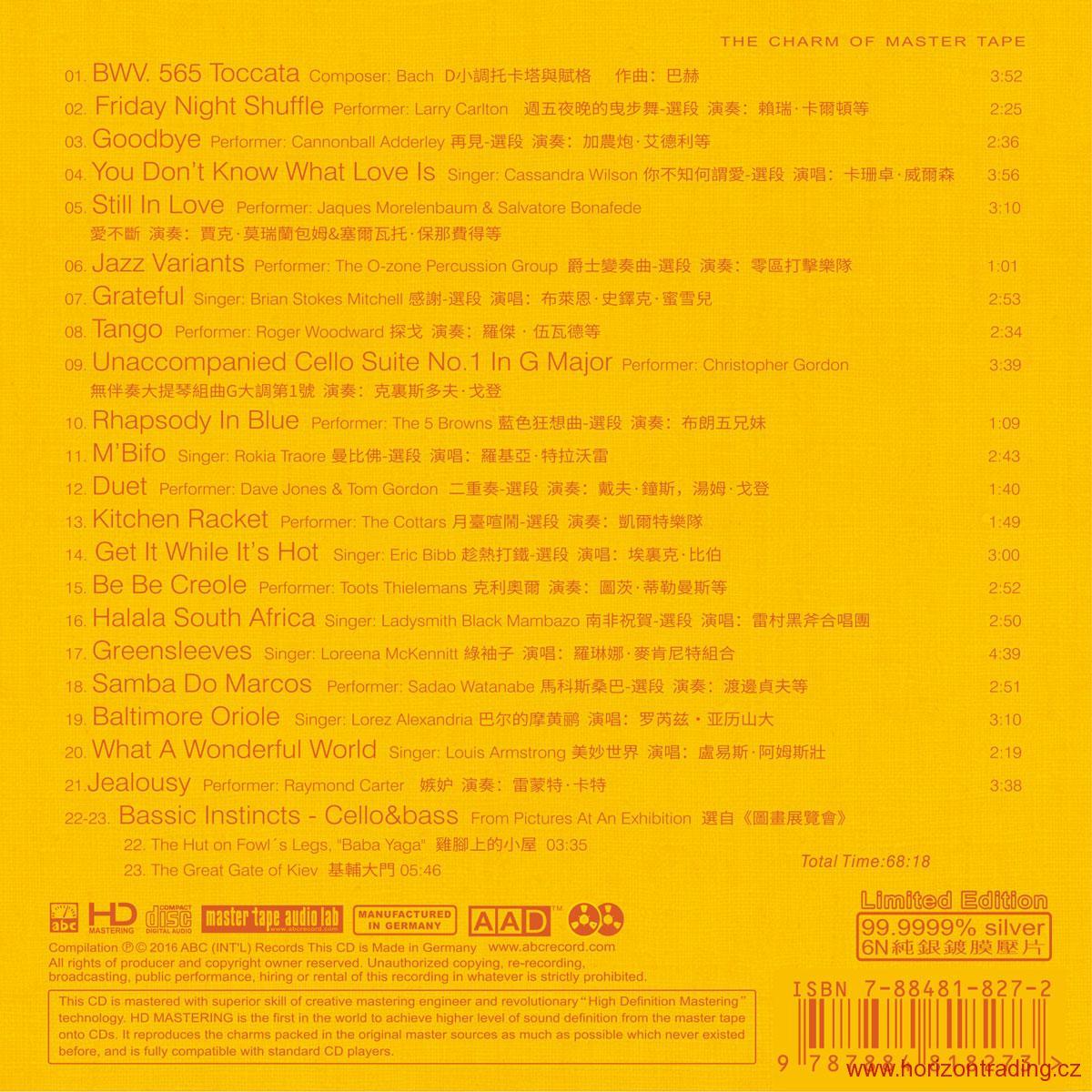 ABC Records - Grand Master Magic Stereo Novinka